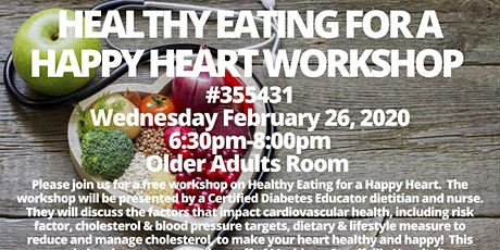 Healthy Eating for a Happy Heart Workshop  tickets