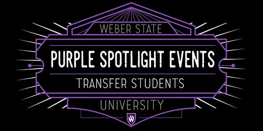 Spring 2020 Purple Spotlight Events for Transfer Students
