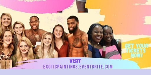Newark Exotic Paintings Valentine Sip & Paint