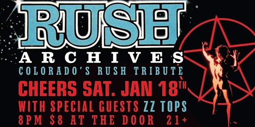 RUSH ARCHIVES with ZZ TOPS