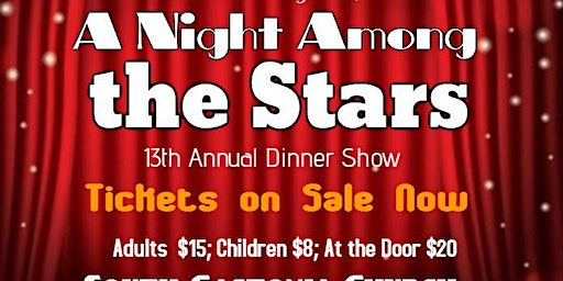 A Night Among the Stars Dinner Show