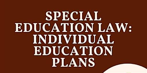 Special Needs Law: IEP