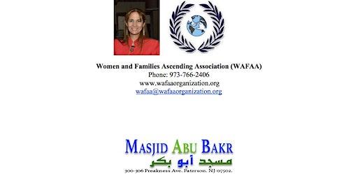 WAFAA Organization, and Masjid Abu Bakr Health Fair