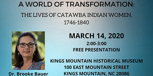 A World of Transformation: The Lives of Catawba Indian Women