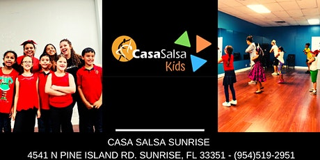 Kids Latin Dance Classes tickets