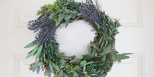 Lovely, Lavender Wreaths at Grove with Alice's Table