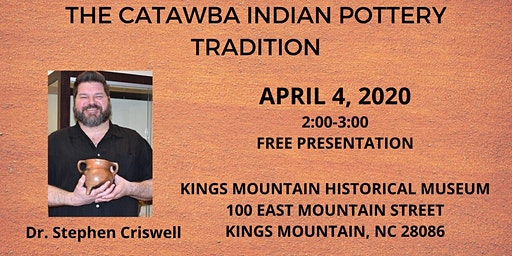 The Catawba Indian Pottery Tradition