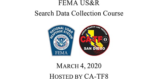FEMA Search Data Collection Standards Course