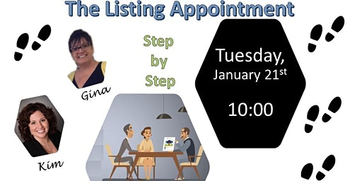The Listing Appointment by Gina and Kim