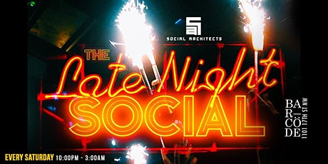 THE LATE NIGHT SOCIAL tickets
