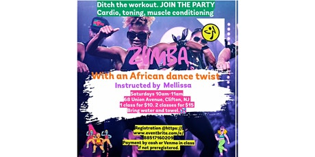 Zumba with an African dance twist tickets