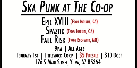 Ska Punk at The Co-op tickets
