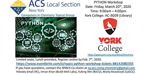 NYACS - Python Workshop