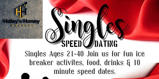21-40 Singles Speed Dating