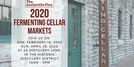 The Leslieville Flea at Toronto's Distillery District tickets