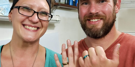Valentine Date Night Coin Ring class (Adult BYOB)