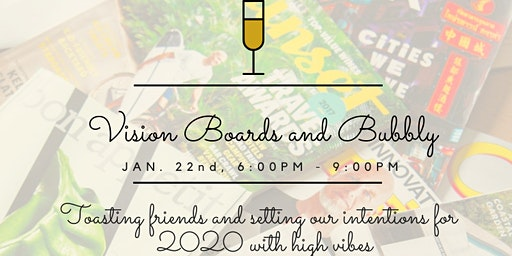 Vision Boards & Bubbly with Mom Tribe SD