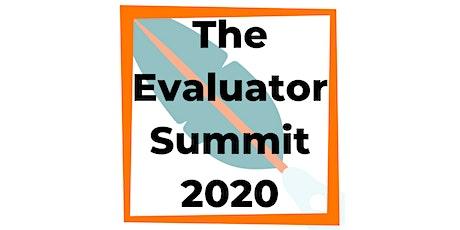 The Evaluator Summit 2020 tickets