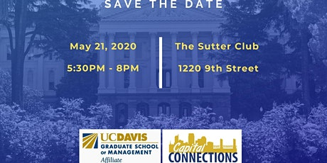 Capital Connections 2020- UC Davis GSM tickets