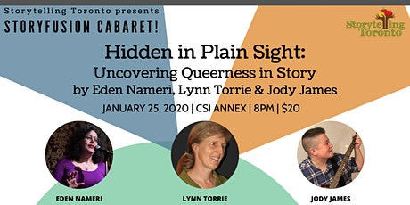 Hidden in Plain Sight by Eden Nameri, Lynn Torrie & Jody James tickets