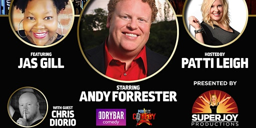 Dinner and Comedy Show:  Andy Forrester presented by SuperJoy