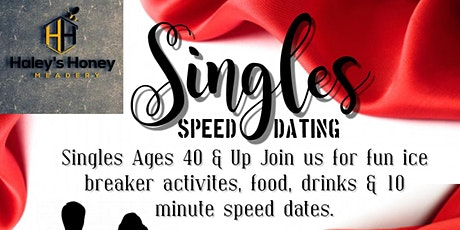 40+ Speed Dating tickets