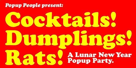 Cocktails! Dumplings! Rats! tickets