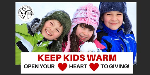 Keep Kids Warm - Open Your Heart to Giving