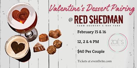 Valentine's Dessert & Beer Pairing tickets