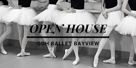 Goh Ballet Bayview Open House tickets
