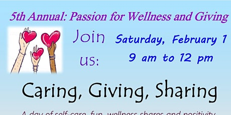 5th Annual Passion for Wellness and Giving tickets