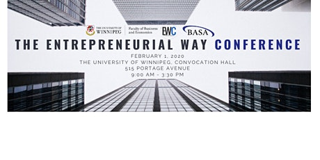 The University of Winnipeg Entrepreneurial Way Conference ( EWC ) tickets