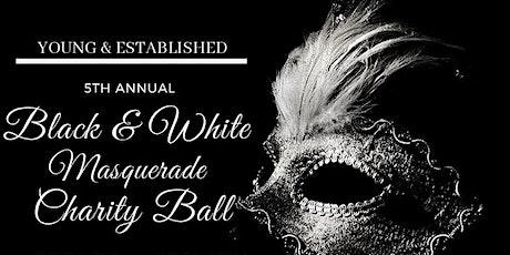 5th Annual Black & White Masquerade Charity Ball tickets