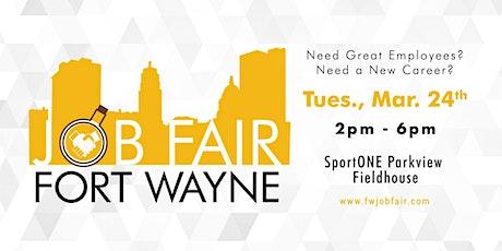 Fort Wayne Spring Job Fair 2020 tickets
