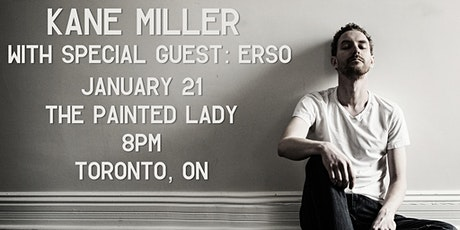 Kane Miller with Erso - Toronto (Acoustic) tickets