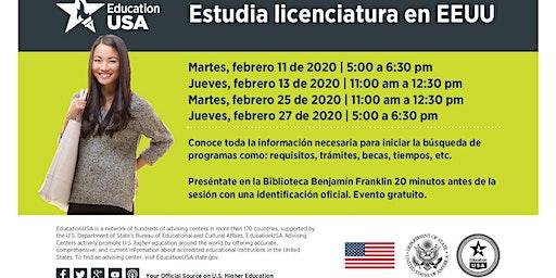 Febrero: Estudia Licenciatura o Ingeniería en EEUU