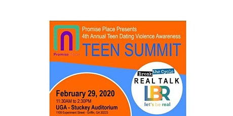 Promise Place's 4th Annual TEEN SUMMIT tickets