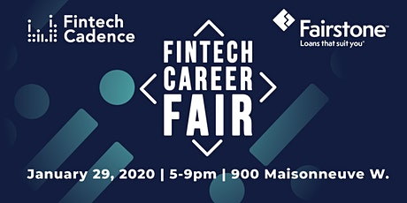 Fintech Career Fair 2020 billets