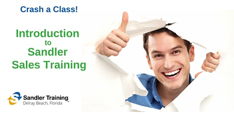 Sandler Training - An Introduction to Sales Growth tickets