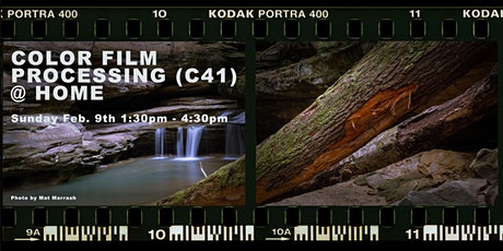 Darkroom 104: Color Film Processing (C41) @ Home  tickets