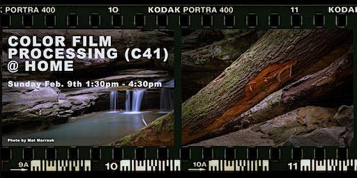 Darkroom 104: Color Film Processing (C41) @ Home