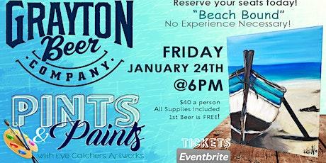 Grayton Beer Company Pints & Paints tickets