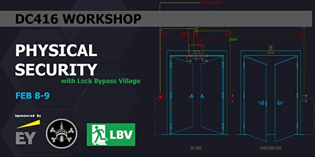 DC416 Physical Security Workshop with Lock Bypass Village tickets