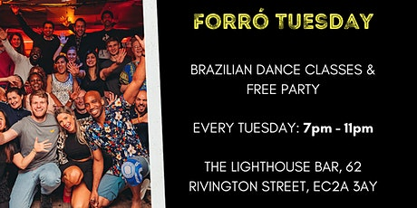 Forró Tuesday - Free Brazilian Dance Party from 9pm! tickets