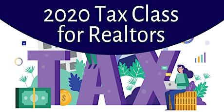 2020 Tax Class for Realtors tickets