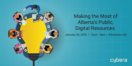 Making the Most of Alberta's Public, Digital Resources - Edmonton tickets