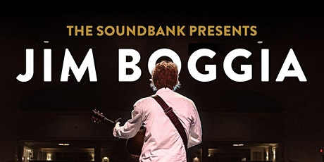 Jim Boggia at The Soundbank! tickets