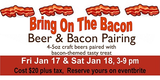 Beer & Bacon Pairing
