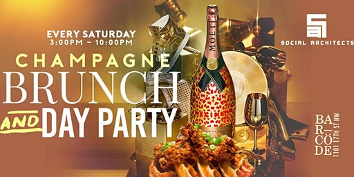 SATURDAY CHAMPAGNE BRUNCH & DAY PARTY