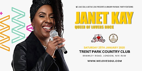 We Love Soul & ActiveLove Feat. Janet Kay 'Queen Of Lovers Rock' tickets